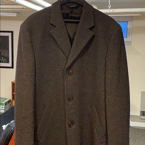 Jos. A. Bank Jackets & Coats - Jos A Bank Charcoal Grey Overcoat 38R